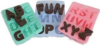 Silicone Alphabet Letter Ice/Bake Tray Set