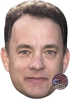 Tom Hanks (2002) Celebrity Mask, Card Face and Fancy Dress Mask