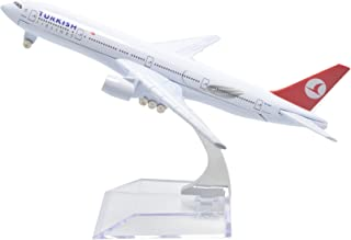 TANG DYNASTY(TM) 1:400 16cm Turkish Airlines Boeing B777 Metal Airplane Model Plane Toy Plane Model