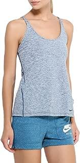 Womens Dri-Fit Training Tank Midnight Turquoise 829707-346