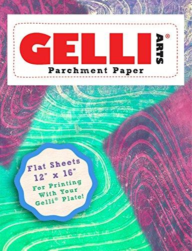 Gelli Arts Parchment Paper White 12X16 50 Sheets