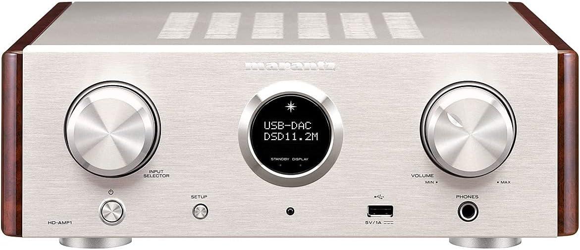 Marantz HD-AMP1 - Amplificador de audio (0,05%, 105 dB, 70 W, 35 W, 20 - 50000 Hz, Terminales de abrazadera)