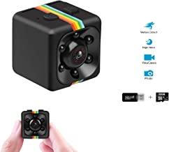 $25 » Mini Spy Camera Portable Small Surveillance Hidden Camera FHD 1080P Nanny cam with 32GB SD Card Motion Detection and Infrared Night Vision, Home Security Camera Wireless for Indoor and Outdoor