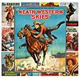 Pixiluv Mini Posters Set [13 Posters 8x11] Wild West Western Cowboys # Movie Poster Reprint