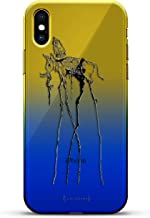 SALVADOR DALI ELEPHANT | Luxendary Gradient Series Clear Ultra Thin Silicone Case for iPhone Xs/X (5.8