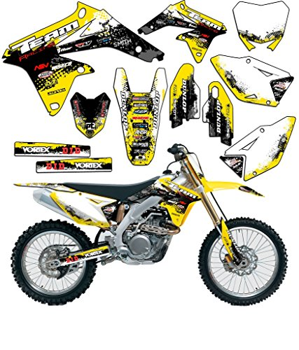 Team Racing Graphics kit compatible with Suzuki All Years RM 65, SCATTER