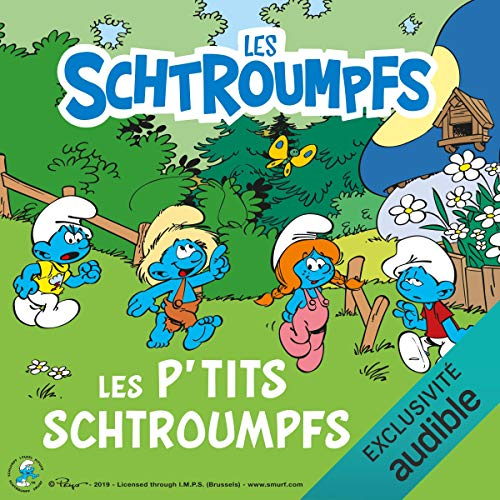Couverture de Les P'tits Schtroumpfs