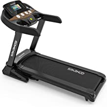 Sparnod Fitness STH-5500 (5 HP Peak) Automatic Treadmill (Free Installation Service) – with WiFi Connectivity Foldable Mot...