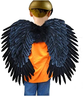 (TM Duo Use Feather Halloween Angel Wings 2 Colors 24x22 inch