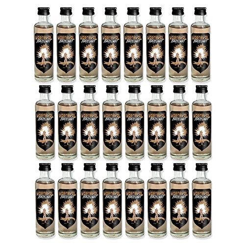 Karneval Vodka Hazelnut Wodka Shots mit Haselnuss Geschmack (24 x 0.04 l)