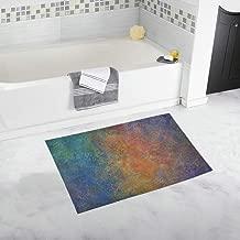 Texture Old Structure Pattern Area Custom Non-slip Bath Mat Rug Bath Doormat Floor Rug For Bathroom 20 X 32 Inch