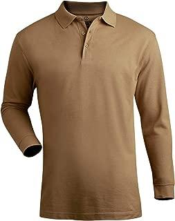 Blended Pique Long Sleeve Polo