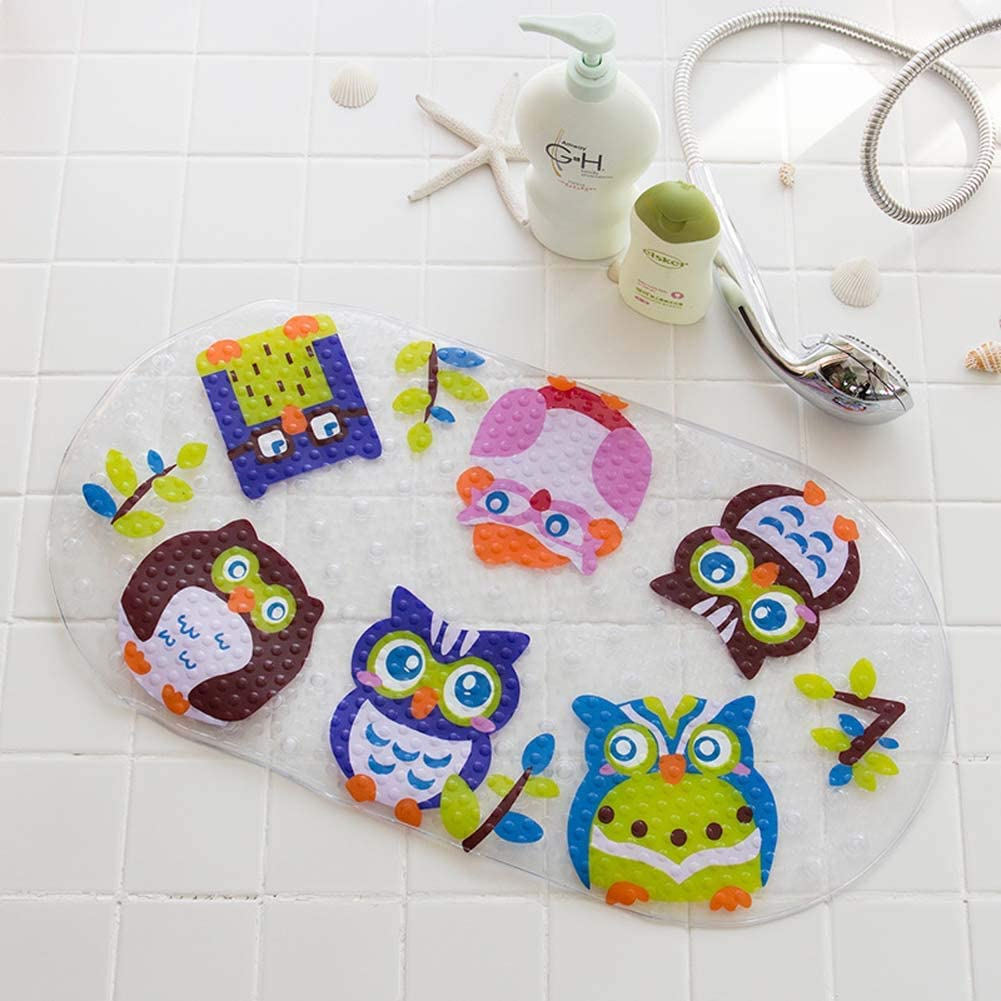 BuilLLin Bath Mats for Online limited product Tub No Cup Slip Ranking TOP15 Bathtub with Suction