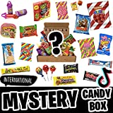 International Mystery Box - Candy + Free Surprise Limited Edition- Mystery Candy Box - Mystery Boxes - Weird Stuff Subscription Box - Tik Tok Candy - Tiktok Candy Trends - Mystery Box for Women, Men or Kids