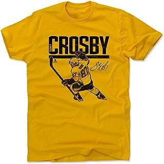 500 LEVEL Sidney Crosby Shirt - Pittsburgh Hockey Men's Apparel - Sidney Crosby Hyper