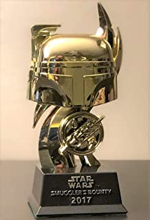 Funko Star Wars Boba Fett Boss 2017 Smuggler's Bounty Exclusive Gold Figurine
