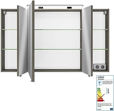IKEA LILLANGEN -Spiegelschrank mit 1 Tür weiß - 40x21x64