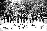 """Signierter Fotodruck, 14 Schauspieler aus """"The Walking"""
