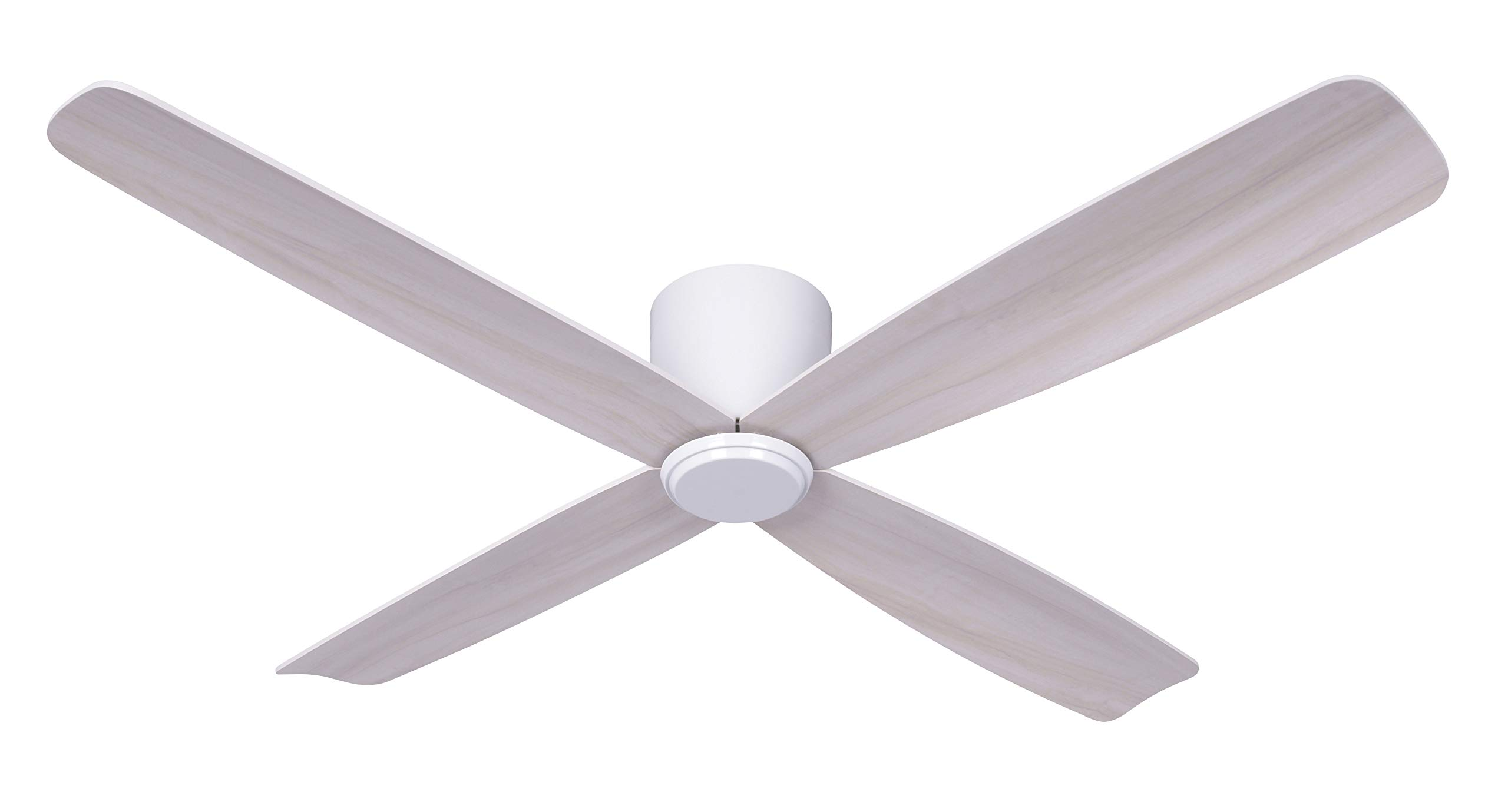 LUCCI AIR Fraser Ventilador de techo, 35 W, color blanco, 132 cm ...