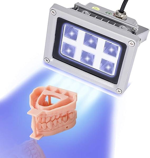 3D Printer UV Resin Curing Light for SLA DLP 3D Printer Solidify Photosensitive Resin 405nm UV Resin Affect