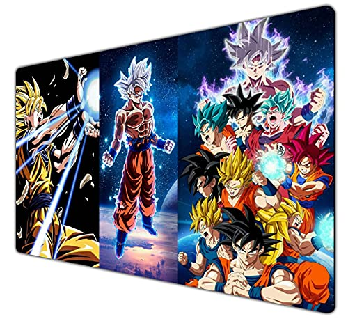 Large Gaming Mouse Pad Home Office Computer Gaming Non-Slip Waterproof Mouse Pad Dragon Ball Z-3
