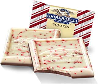 Ghiradelli Peppermint Bark Squares - 50 Count Squares
