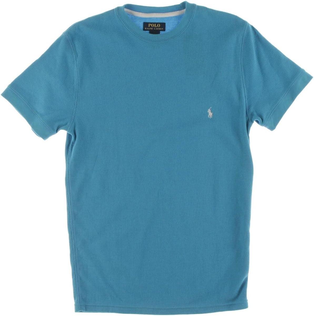 Polo Ralph Lauren Mens Short Sleeves Crew Neck T-Shirt Blue M