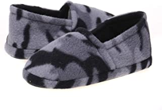 boys camouflage slippers