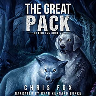 The Great Pack audiobook cover art