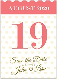 Notepad Save The Date Wedding Invitations