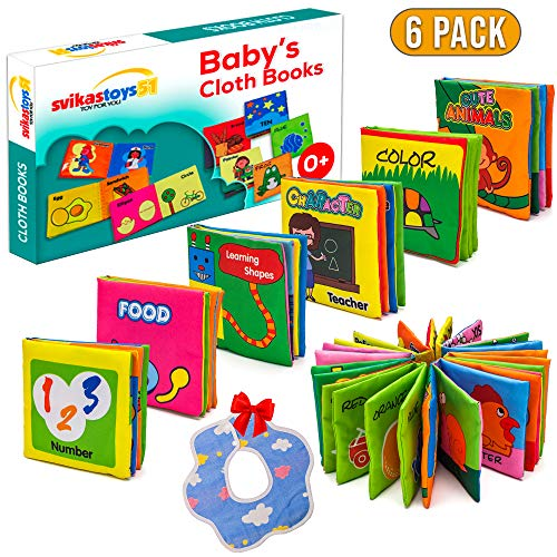 Baby Book First Year & Baby Toy 6-12 Mounths , Baby Boy Toy & Baby Girl toy, Infant Toys 0 6 Months, Baby Book Toy & Baby Einstein Toy, Baby Crinkle Books, Baby Soft Cloth Book, Baby Educational Toy