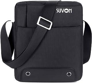 "SUVOM Man Bag Messenger Bag Crossbody Bags Lightweight Waterproof Travel Shoulder Bag Fit iPad/10.1"" Tablet for Work & Bus..."