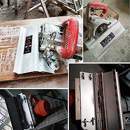 FANKUNYIZHOUSHI chaflán marco inglete sierra 45 grados de corte de la máquina...