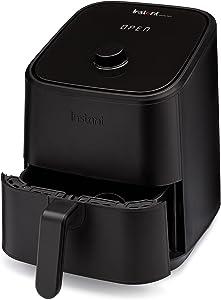 Instant Vortex Air Fryer Oven, 4-in-1 Oil-Less Cooker, Roaster, Toaster, Crisper, Dehydrator, Warmer, 2-Quart, Black
