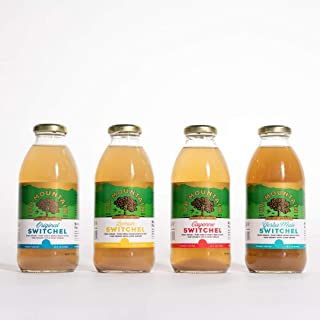 Sponsored Ad - Up Mountain Switchel Beverage, Variety Pack (4-PACK)   Fresh Ginger, Maple Syrup and Apple Cider Vinegar   ...