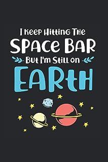I Keep Hitting The Space Bar But Im Still On Earth Kalender 2021: Aliens Terminplaner 2021 Mit Uhrzeit Alienskalender Lust...