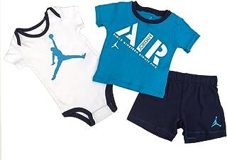 c4aed3d3976 Nike Jordan Infant New Born Baby Bodysuit and Pants 3 Pcs Layette Set