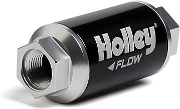 Holley 162-550 Black Billet Finish Fuel Filter