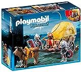 Playmobil Knights Hawk Knight`s with Camouflage Wagon Figura de...
