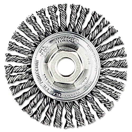 Weiler 13131 Stringer Bead Knot Wire Wheel, 4