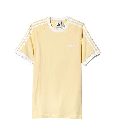 adidas Originals 3-Stripes Tee (Easy Yellow) Men