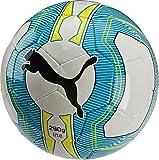 PUMA Fußball Evopower Lite 3, White/Atomic Blue/Safety Yellow, 5