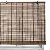 LOLAhome Estor Enrollable de bambú (160 x 180 cm, Marron)