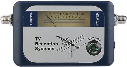 LXIUERH Satellite Finder Meter,DVB-T Finder Digital Aerial Terrestrial TV Antenna Signal Power Strength Meter Pointer TV R...