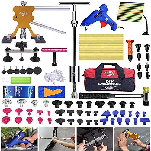 PDR Dellen Reparaturset, Ausbeulwerkzeug Lackfreies, Auto Dellen Reparaturset, Wird verwendet, um Verschiedene Dellen zu reparieren, Komplettes Dellenreparaturset, Tools, Autoreparatur Werkzeuge