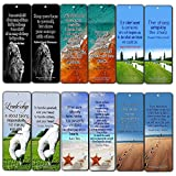 Creanoso Leadership Citations Signets Cartes (12-Pack) - Six cartes de qualité assorties Bookmarker en vrac Set - Grande Collection Giveaways - Récompenses pour les employés