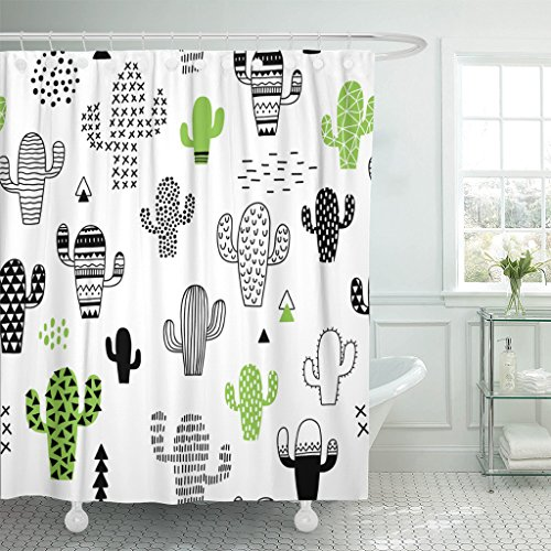 10 best shower curtain cactus print for 2020