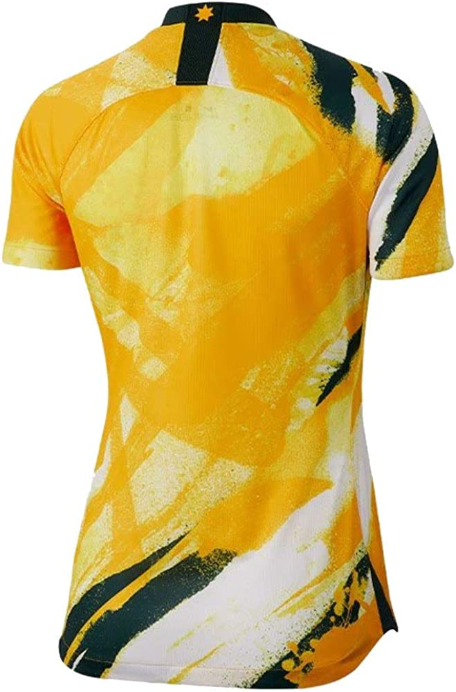 Nike 2019-2020 Australia Home Womens Football Soccer T-Shirt Jersey AJ4388: Clothing