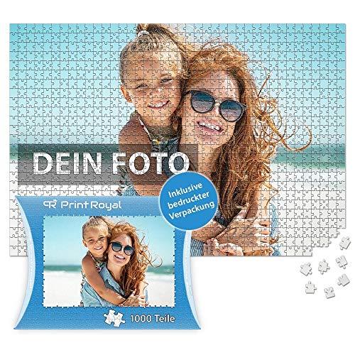 Print Royal Foto-Puzzle 24 - 1000 Teile in inkl. hochwertiger Verpackung - mit eigenem Foto Bedrucken - Puzzle selber gestalten - 1000 Teile in Kartonverpackung