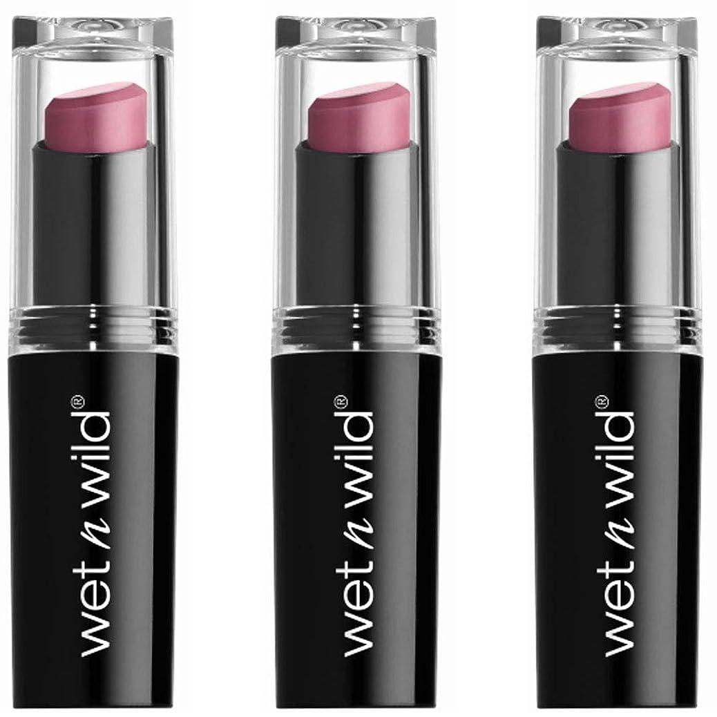 従来のメール半導体WET N WILD Mega Last Matte Lip Cover - Smooth Mauves (並行輸入品)